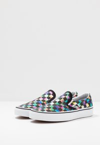 Vans - CLASSIC - Loaferit/pistokkaat - iridescent/black/true white - 4