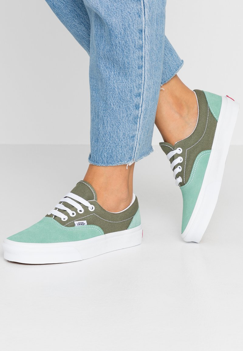 Vans - ERA - Zapatillas - deep lichen green/creme de menthe