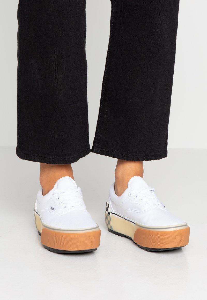 Vans - ERA STACKED - Sneaker low - white
