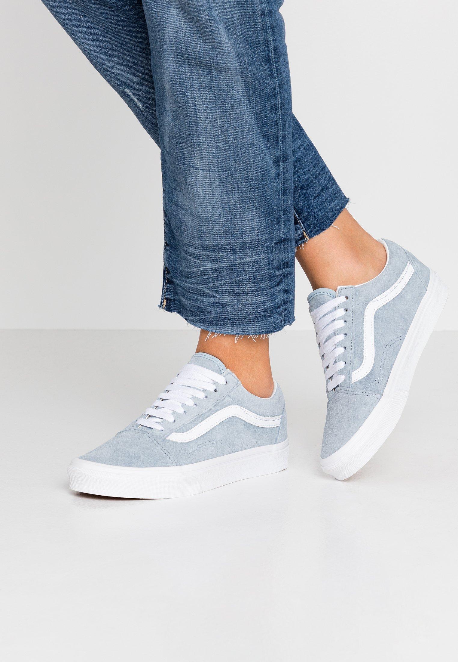 OLD SKOOL Sneaker low blue fogtrue white