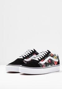 Vans - OLD SKOOL - Sneaker low - black/true white - 4