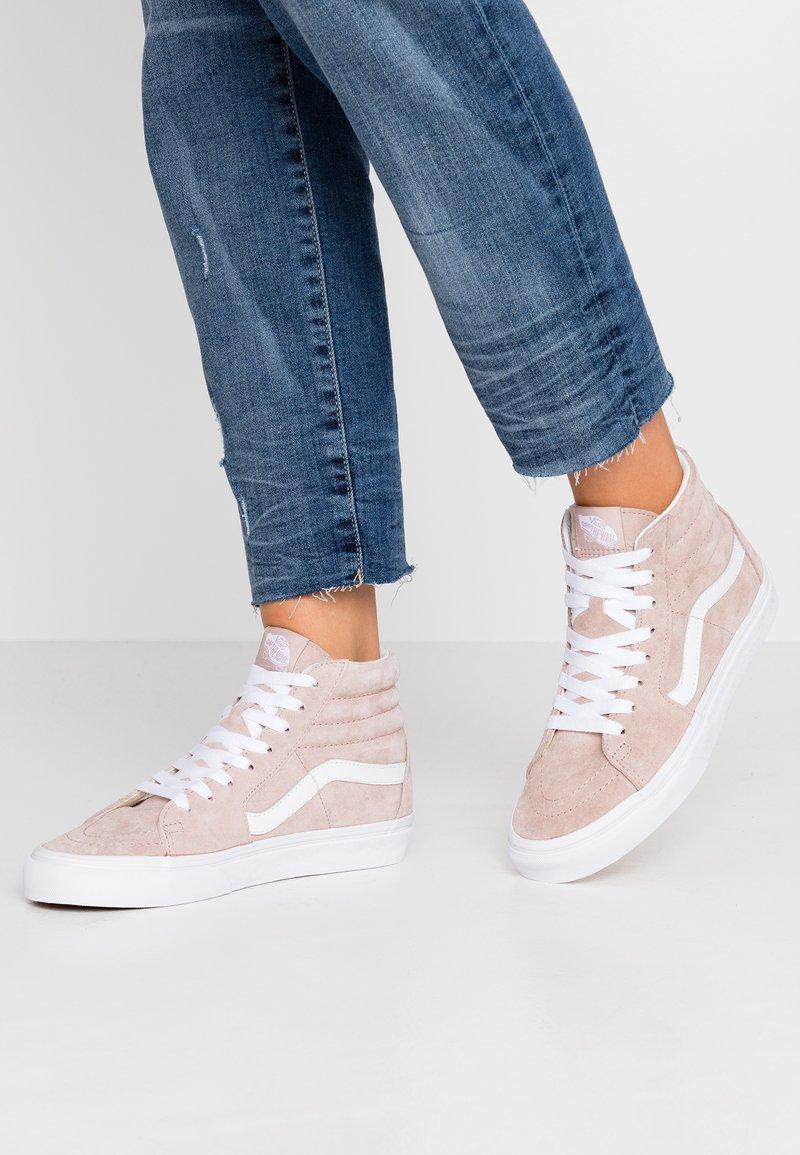 Vans - SK8 - Sneaker high - shadow gray/true white