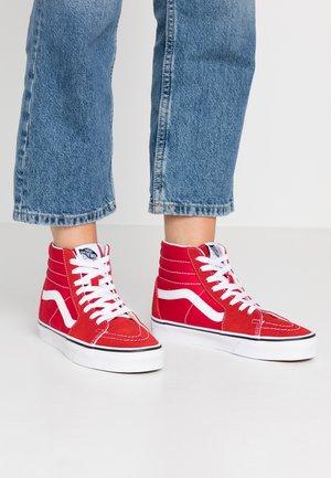 Zapatillas altas - racing red/true white
