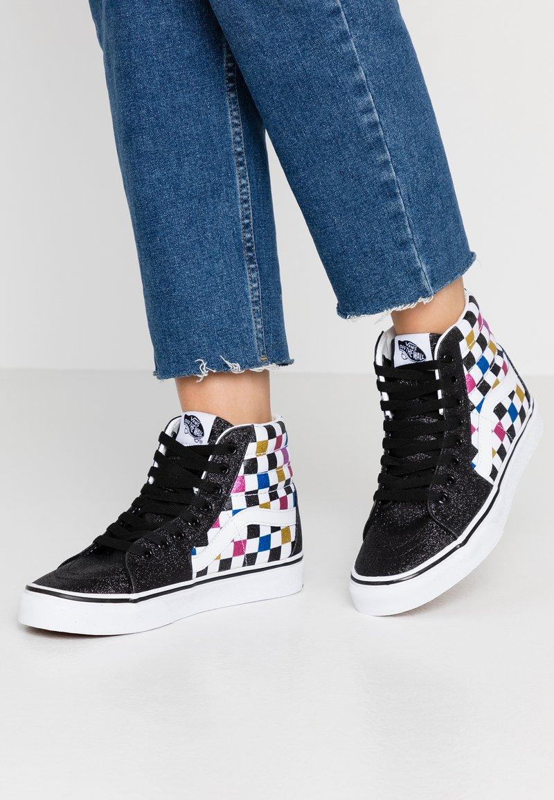 Vans - SK8 - Sneaker high - glitter black/true white