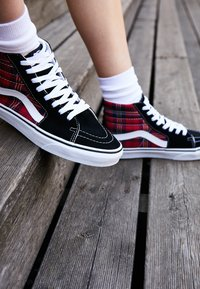 Vans - High-top trainers - black/multicolor/true white