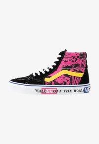 Vans - High-top trainers - azalea pink/true white - 1