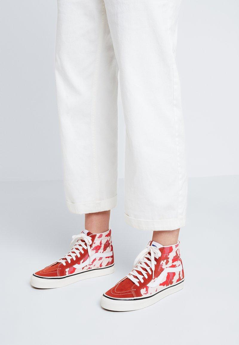 Vans - ANAHEIM FACTORY SK8  - Sneaker high - red