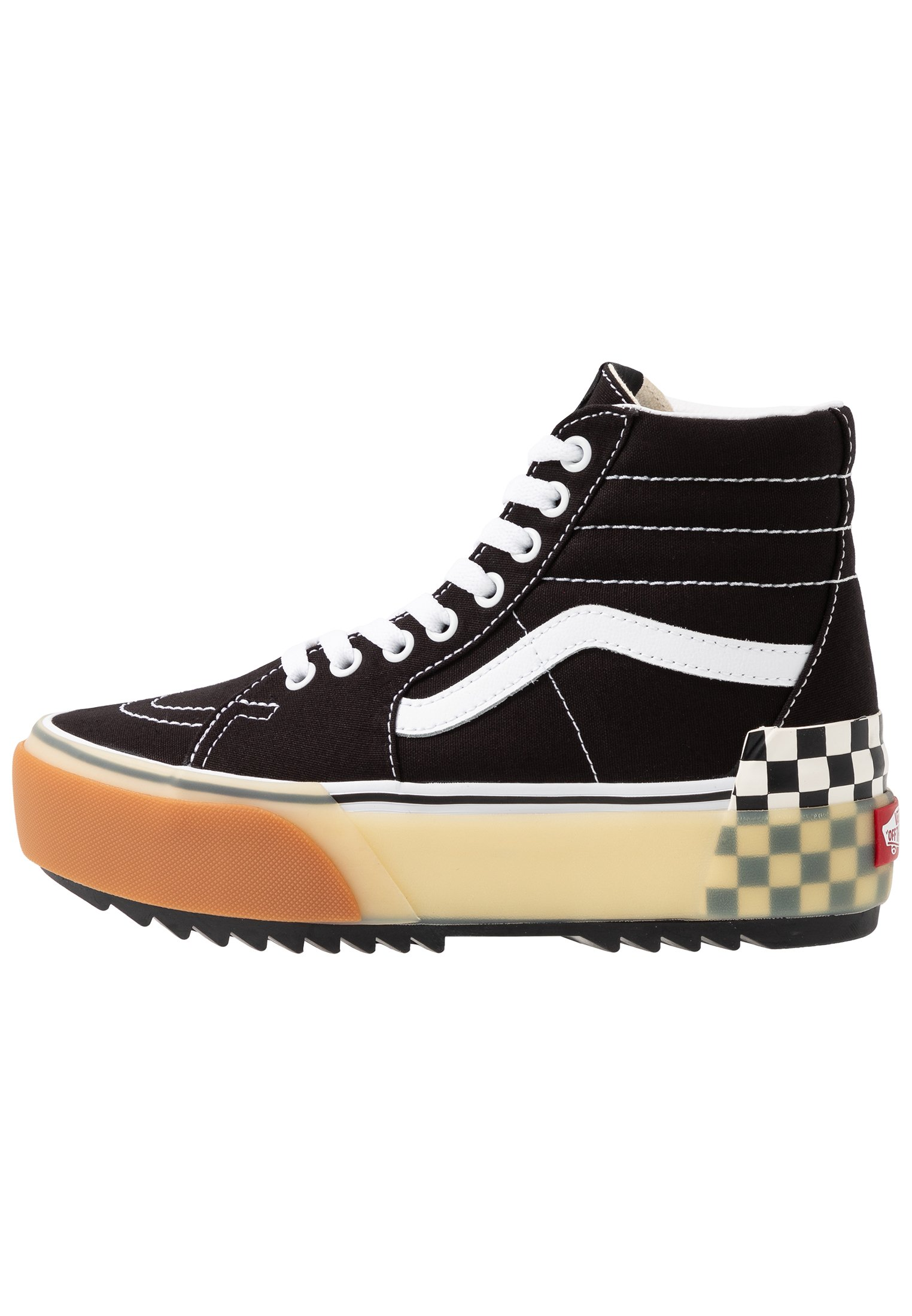 Vans Sk8 Stacked - Høye Joggesko Multicolor/true White
