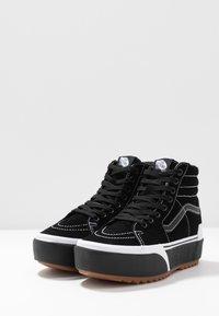 Vans - SK8-HI STACKED - High-top trainers - black - 4