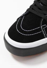 Vans - SK8-HI STACKED - High-top trainers - black - 2