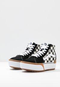 Vans - SK8 STACKED - Zapatillas altas - multicolor/true white - 6