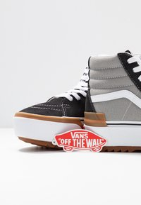 Vans - SK8 STACKED - High-top trainers - drizzle/true white - 7