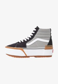 Vans - SK8 STACKED - High-top trainers - drizzle/true white - 1