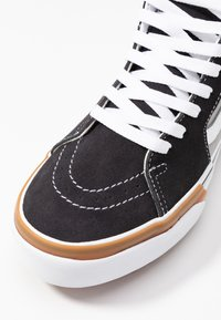 Vans - SK8 STACKED - High-top trainers - drizzle/true white - 2