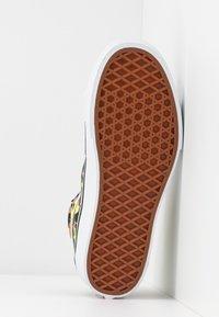 Vans - SK8 PLATFORM 2.0 - Sneakers alte - camel/black/true white - 8