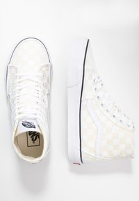 Vans - SK8 TAPERED - Baskets montantes - white/true white - 3