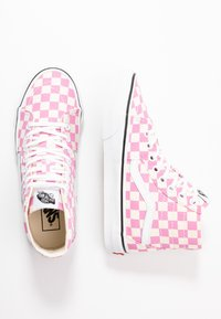 Vans - SK8 TAPERED - Baskets montantes - fuchsia pink/true white - 3
