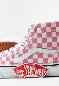 Vans - SK8 TAPERED - Baskets montantes - fuchsia pink/true white - 7