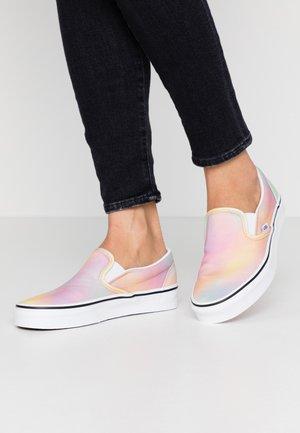 CLASSIC UNISEX - Slip-ons - multicolor/true white