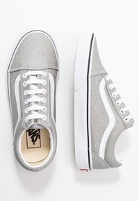 Vans - OLD SKOOL - Sneakers basse - silver/true white - 3