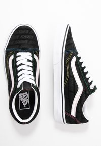 Vans - OLD SKOOL - Joggesko - black/true white - 3
