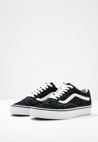 Vans - OLD SKOOL - Joggesko - black/true white - 4
