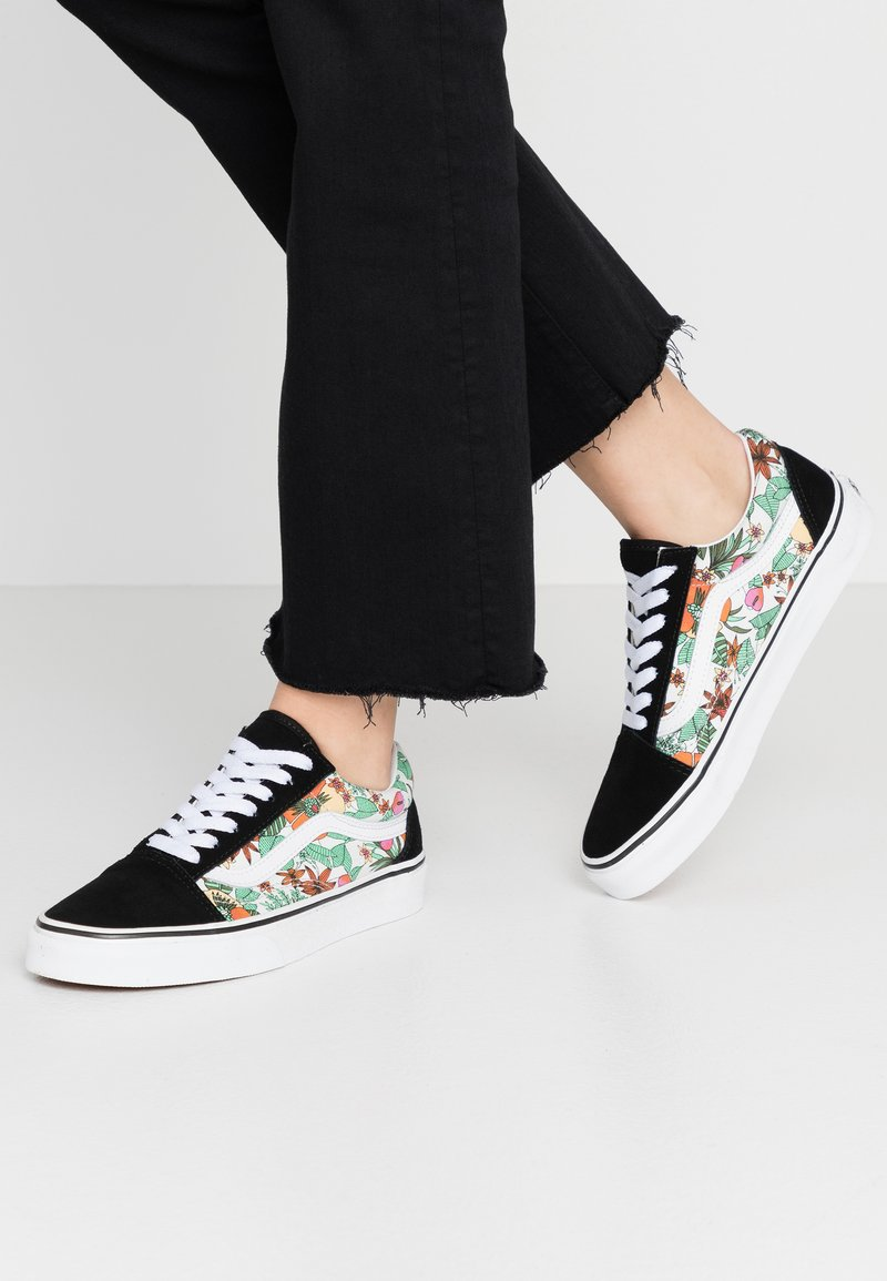 Vans - OLD SKOOL - Matalavartiset tennarit - multicolor/black/true white