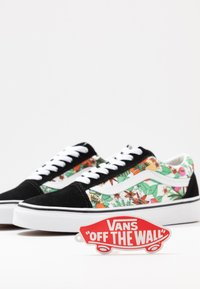 Vans - OLD SKOOL - Matalavartiset tennarit - multicolor/black/true white - 7