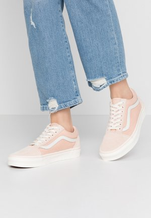 OLD SKOOL - Sneakers basse - creme de peche/snow white