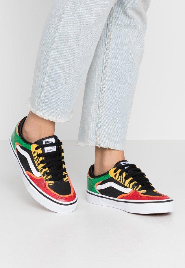ROWLEY CLASSIC - Sneakers - rasta/black