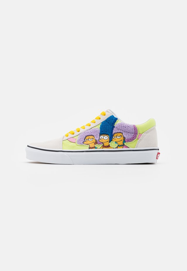 OLD SKOOL THE SIMPSONS - Baskets basses - white