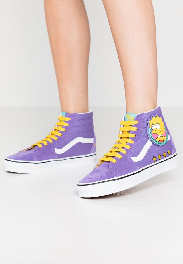 Sneakers high - purple