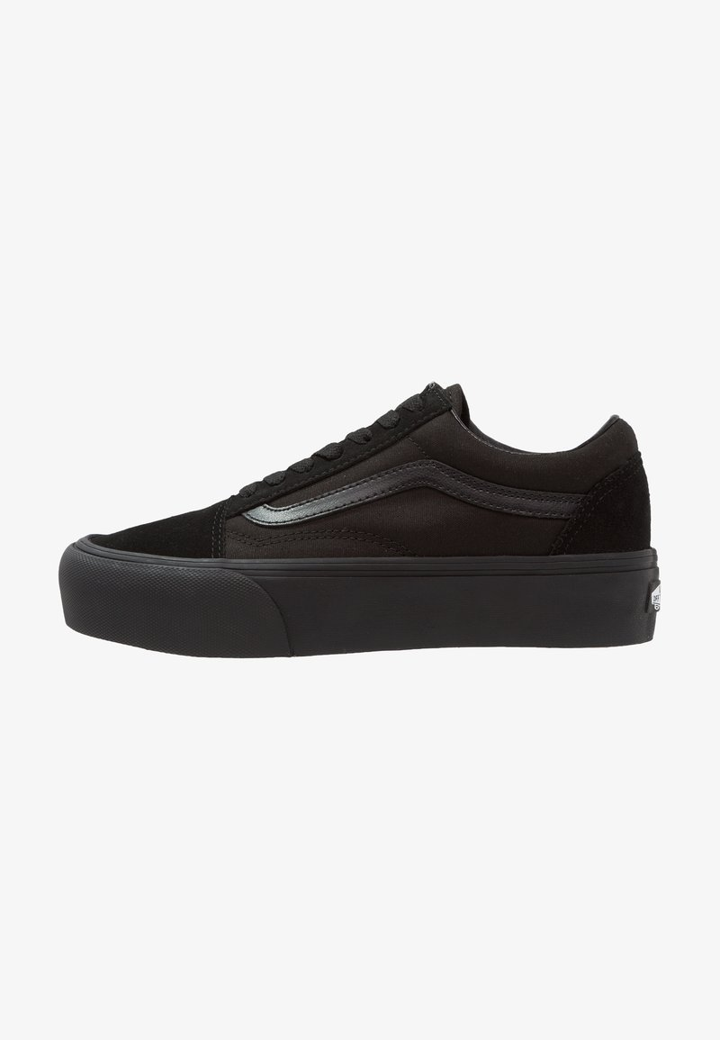Vans - UA OLD SKOOL PLATFORM - Sneakers basse - black