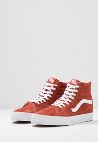 Vans - SK8 - High-top trainers - burnt brick/true white - 2
