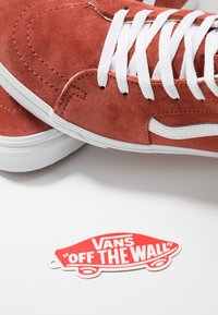 Vans - SK8 - High-top trainers - burnt brick/true white - 5