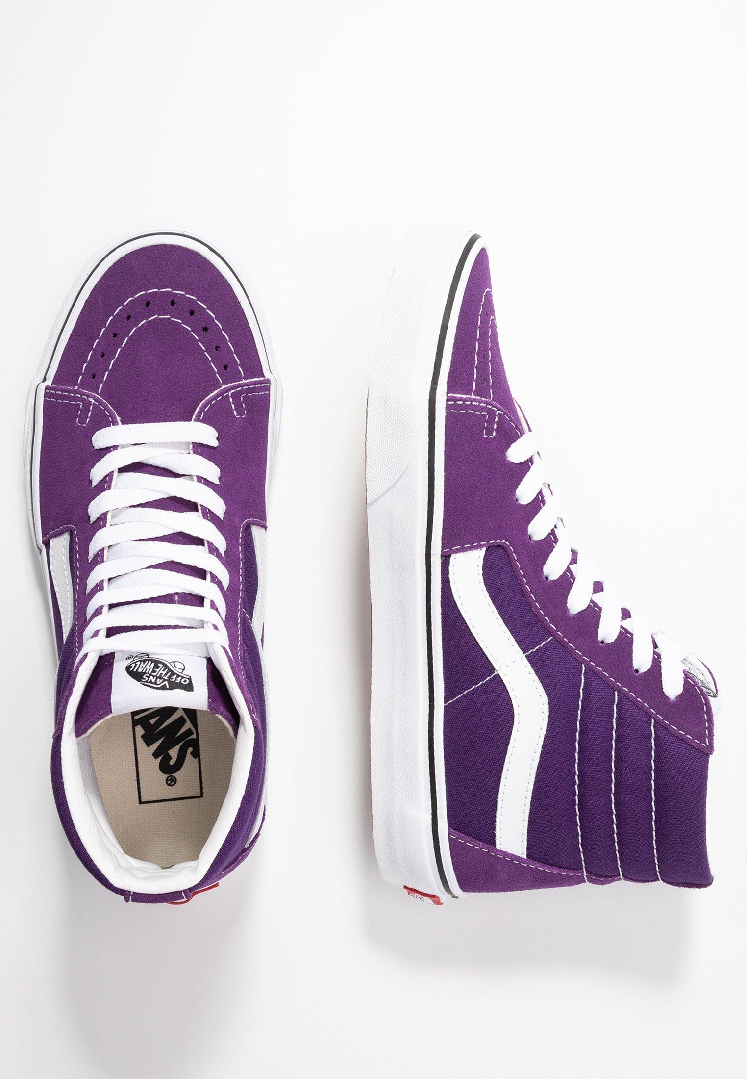 SK8 Baskets montantes purplewhite