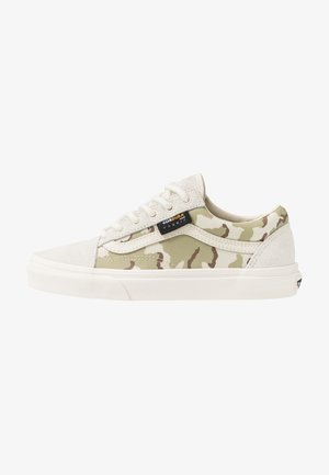 OLD SKOOL - Trainers - white asparagus