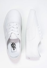 Vans - AUTHENTIC - Matalavartiset tennarit - true white - 1