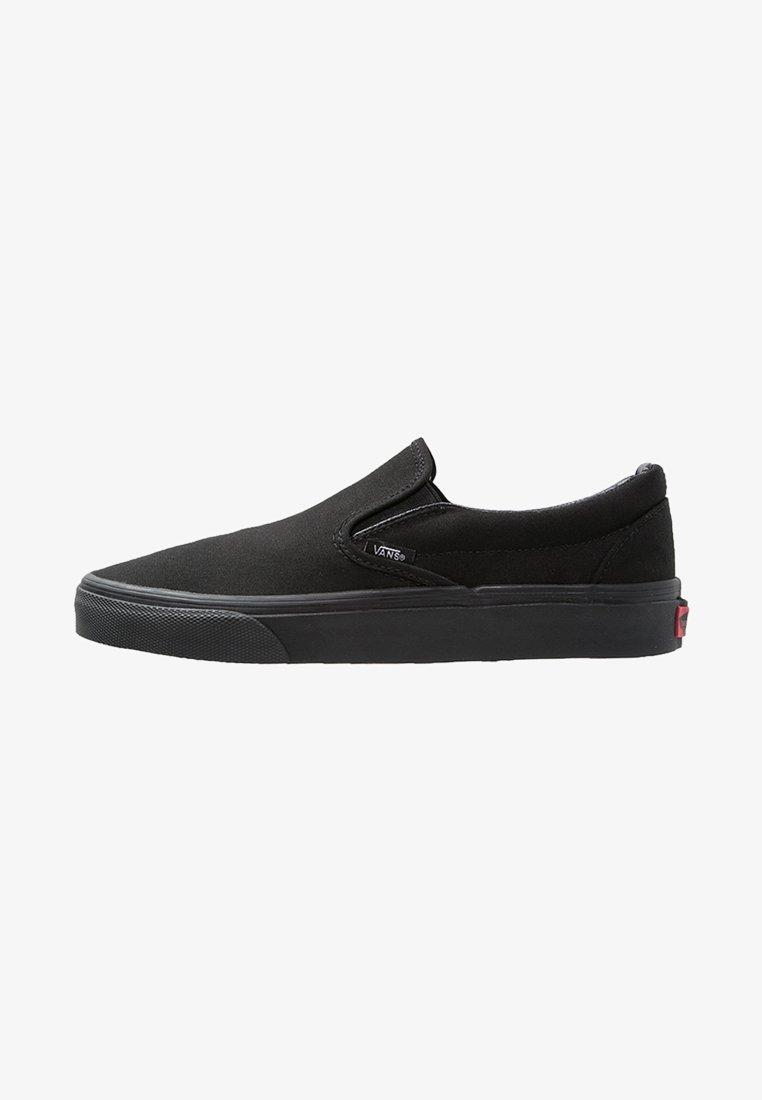 Vans - CLASSIC SLIP-ON - Loaferit/pistokkaat - black