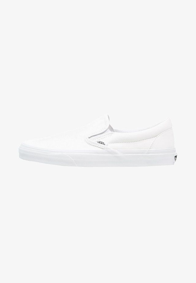 CLASSIC SLIP-ON - Półbuty wsuwane - true white