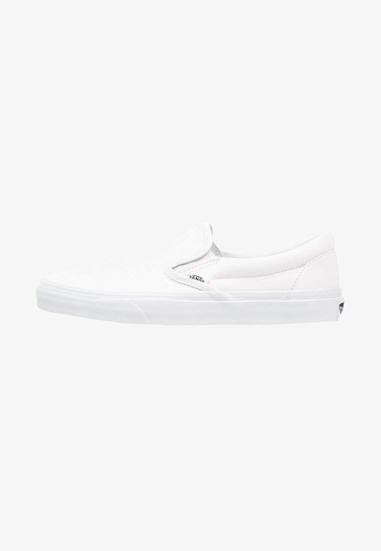 Vans - CLASSIC SLIP-ON - Półbuty wsuwane - true white