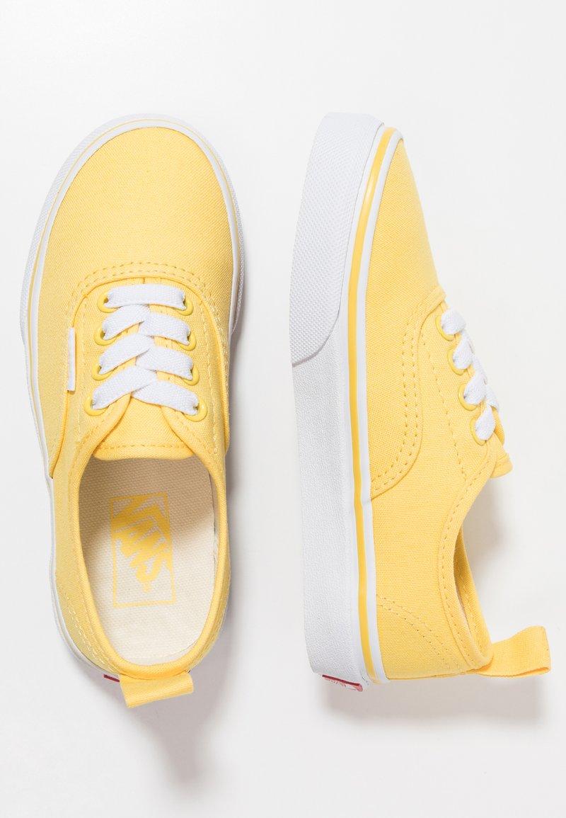 Vans - AUTHENTIC ELASTIC LACE - Slip-ons - aspen gold/true white