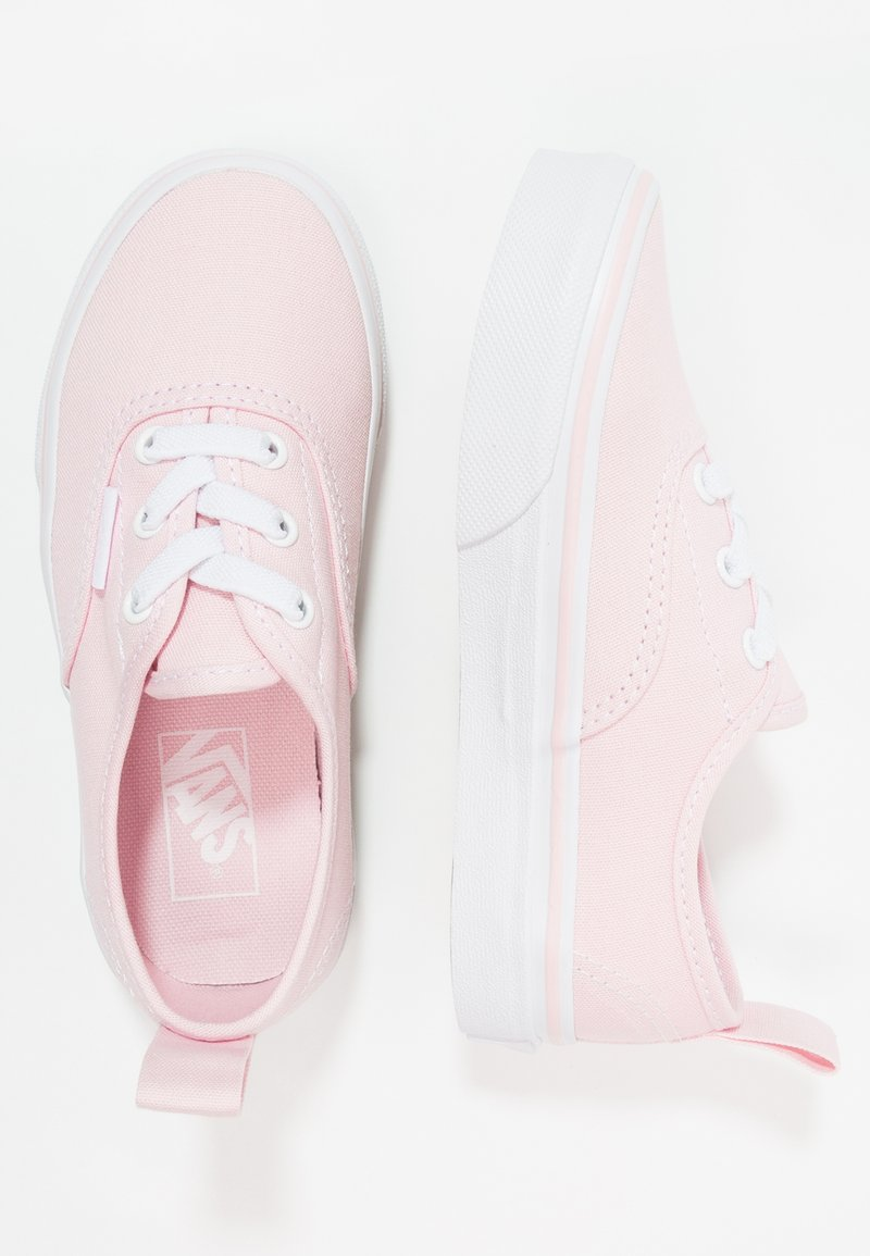 Vans - AUTHENTIC ELASTIC LACE - Mocassins - chalk pink/true white