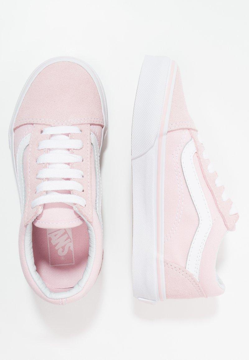 Vans - OLD SKOOL - Sneakers laag - chalk pink/true white