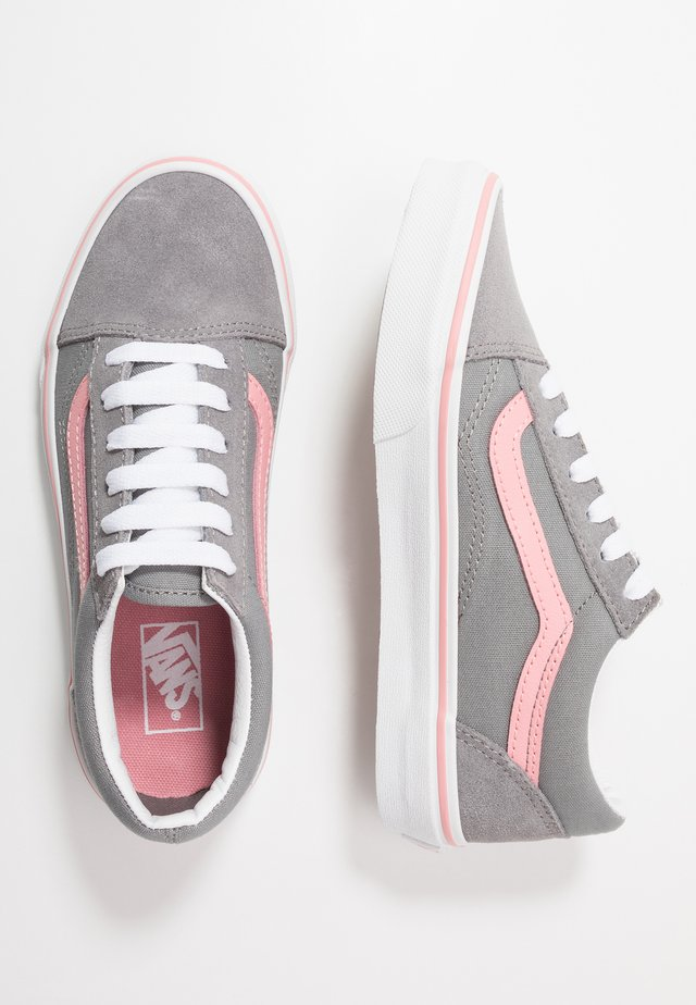OLD SKOOL - Sneakers - frost gray/pink icing