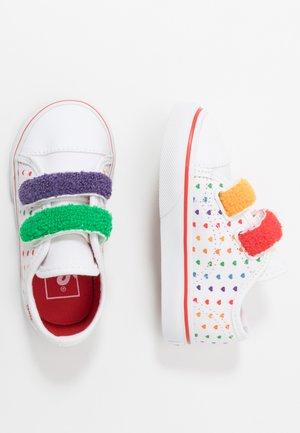 STYLE  - Sneaker low - rainbow/true white