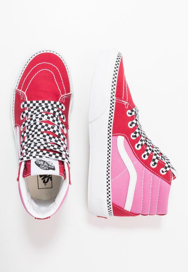 SK8 PLATFORM 2.0 - Höga sneakers - chili pepper/fuchsia pink