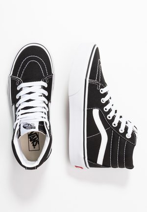 SK8 PLATFORM 2.0 - Korkeavartiset tennarit - black/true white