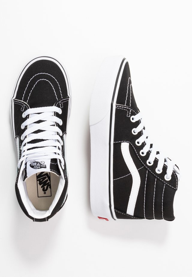 SK8 PLATFORM 2.0 - Zapatillas altas - black/true white