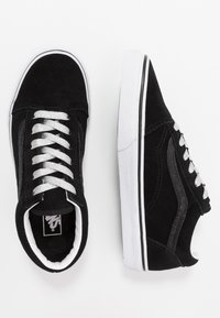 Vans - OLD SKOOL - Trainers - glitter/black/true white - 0